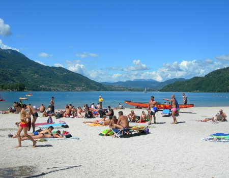 Lago di Caldonazzo - weekend d'estate in Valsugana