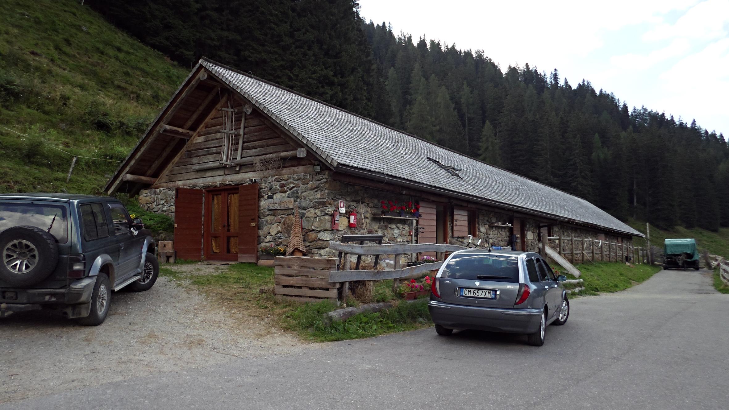Malga Casarina in Val Campelle
