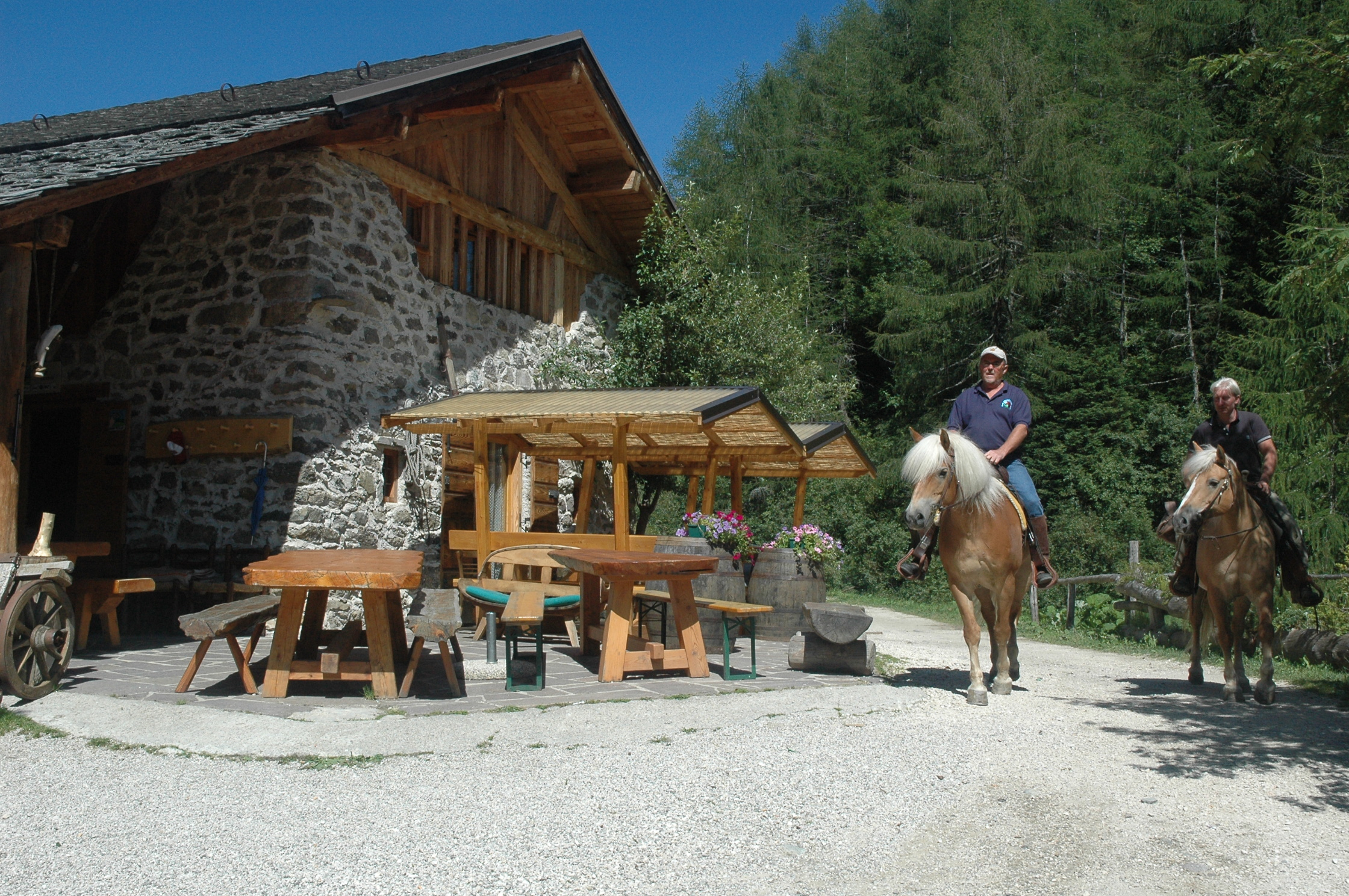 valsugana en paardrijden