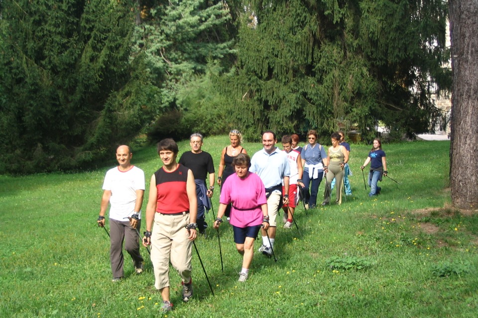 Nordic Walking routes in Valsugana