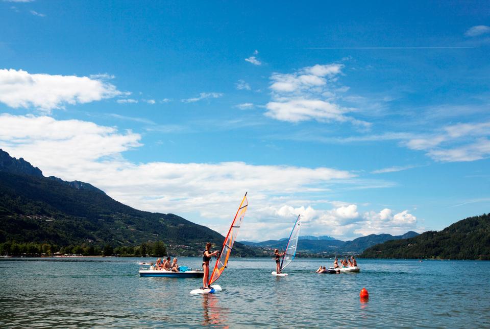 windsurfen caldonazzomeer