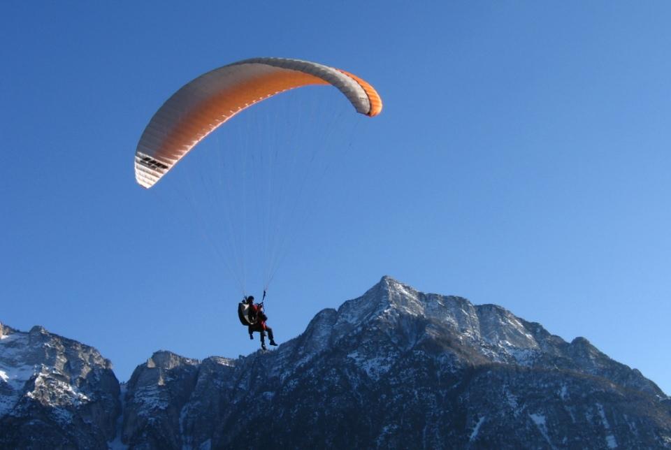 paragliding valsugana