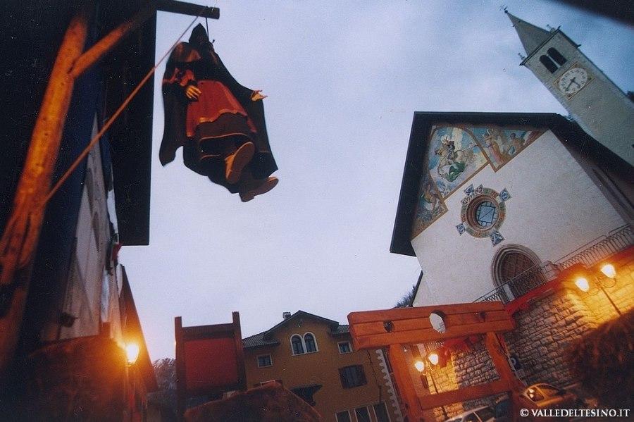 Biagio delle Castellare - Impiccagione