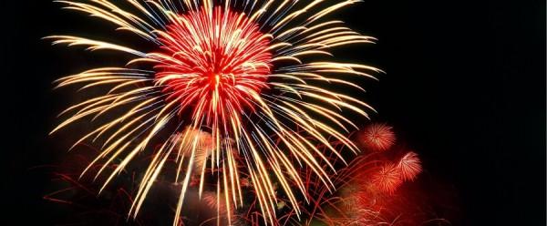 Fuochi d'artificio in Valsugana e Lagorai, Lago di Levico e Lago di Caldonazzo - la notte delle stelle cadenti